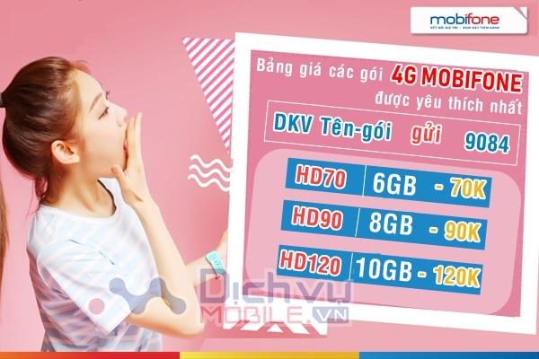 Cách đăng ký 4G Mobifone 1 ngày, tuần, tháng, năm khuyến mãi data khủng kèm phút gọi