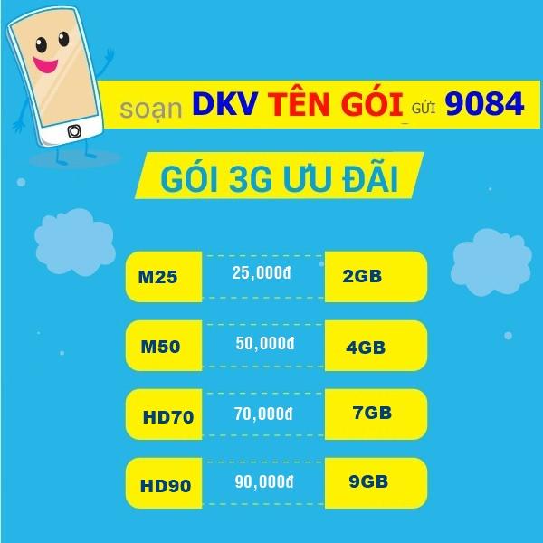 Hướng dẫn đăng ký 3G Mobifone dùng 1 ngày, 1 tuần, 1 tháng, 1 năm data khủng mới 2021