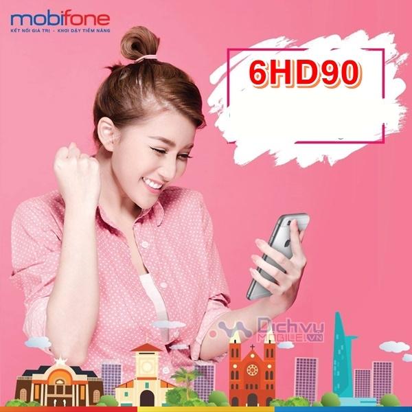 Lướt web thả ga với gói cước 6HD90 Mobifone tiết kiệm 15k/ tháng