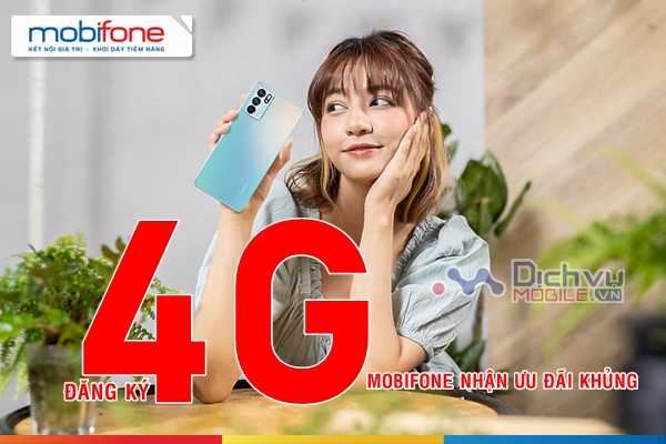 Bảng giá các gói cước 4G của Mobifone cập nhật mới nhất 2021 ưu đãi siêu khủng