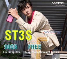 Đăng ký gói ST3S Viettel nhận 90GB dùng Zoom MIỄN PHÍ