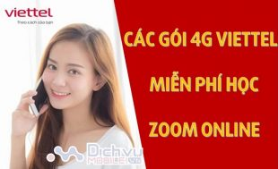 goi 4G Viettel mien phi hoc Zoom online