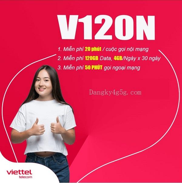 goi cuoc V120N Viettel