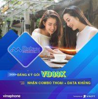 Hướng dẫn đăng ký gói cước VD89K ưu đãi 60GB data kèm phút thoại miễn phí 30 ngày
