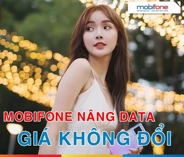 NÓNG: Mobifone chính thức nâng data các gói 3G/4G giá không đổi đến 10 lần so với data hiện tại