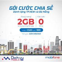 Mobifone tặng gói cước CS2G cho thuê bao tại Đà Nẵng và Tp. Hồ Chí Minh