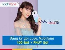 cách đăng ký gói cước Mobifone 100SMS kèm phút gọi