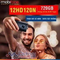 Hướng dẫn đăng ký gói 12HD120N Mobifone nhận 2GB/ ngày trọn năm