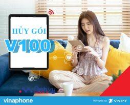 Hướng dẫn hủy gói V100 Vinaphone tiết kiệm 100,000đ
