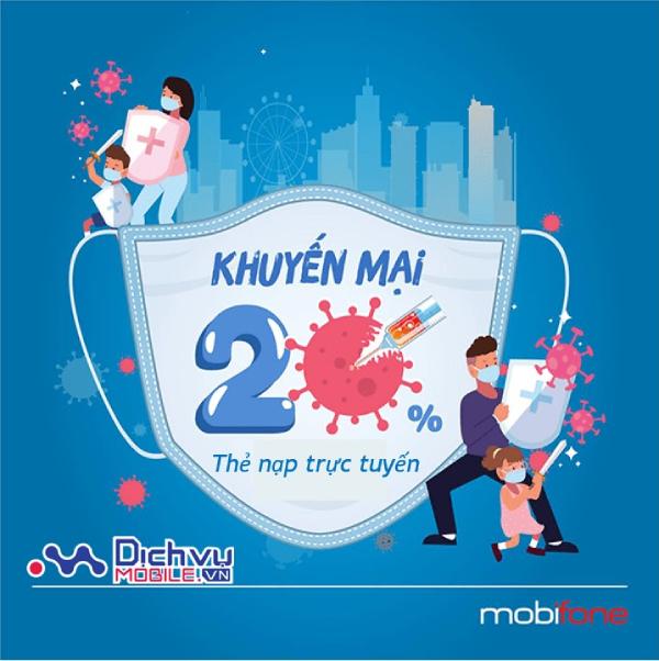 Mobifone khuyến mãi trực tuyến ngày 15/9/2021