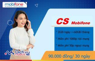 Cách đăng ký gói cước CS Mobifone