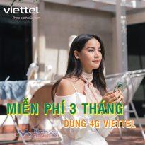 HOT: Cách nhận ưu đãi miễn phí 3 tháng sử dụng data 4G Viettel không giới hạn