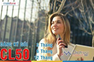 Hướng dẫn đăng ký gói CL50 Mobifone chu kỳ 3 tháng, 6 tháng, 12 tháng