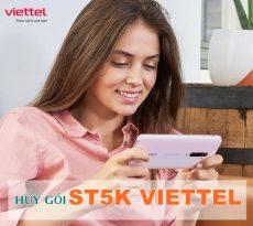 Hướng dẫn hủy gói ST5K Viettel nhanh chóng qua SMS tiết kiệm 5k/ ngày