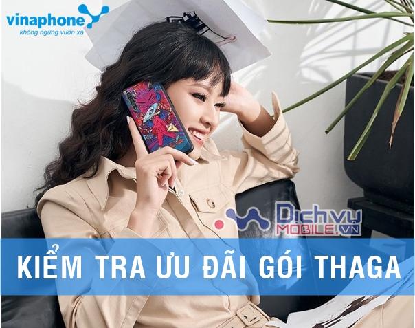 Hướng dẫn kiểm tra ưu đãi của gói Thaga100 Vinaphone