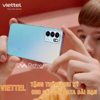 HOT: Viettel tặng chu kỳ sử dụng miễn phí cho các gói data chu kỳ dài