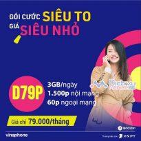 Gói cước D79P mạng Vinaphone