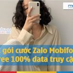 Các gói cươccs Zalo Mobifone miễn phí data truy cập