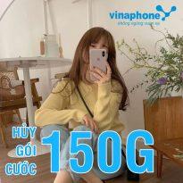 Cách hủy đăng ký gói cước 150G VinaPhone tiết kiệm chi phí