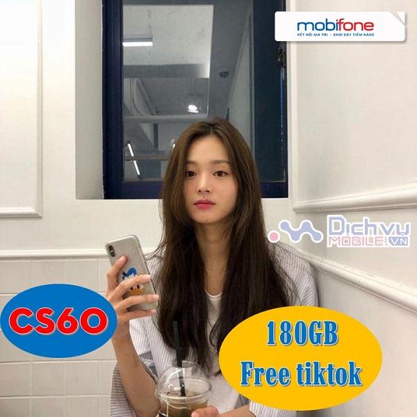 Gói cước CS60 mạng Mobifone